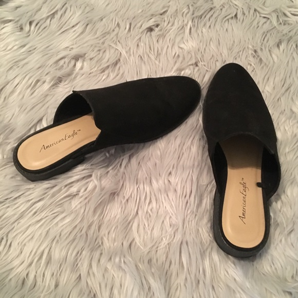 1823464a720 American Eagle By Payless Shoes - Black Mules  Loafers  Flats